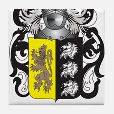 Lacy-2 Coat of Arms - Family Crest Tile Coaster