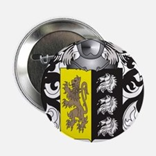 """Lacy-2 Coat of Arms - Family Crest 2.25"""" Button"""