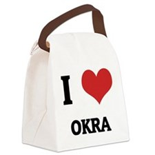 OKRA Canvas Lunch Bag