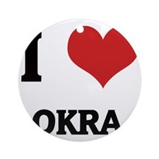 OKRA Round Ornament