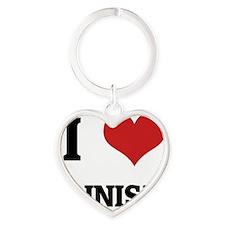 JAINISM Heart Keychain
