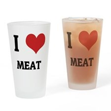 MEAT Drinking Glass