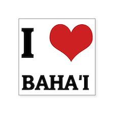 """BAHAI Square Sticker 3"""" x 3"""""""