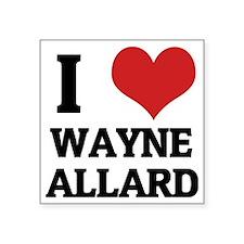 """WAYNE ALLARD Square Sticker 3"""" x 3"""""""