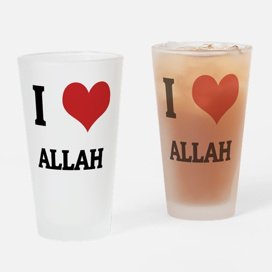 ALLAH Drinking Glass