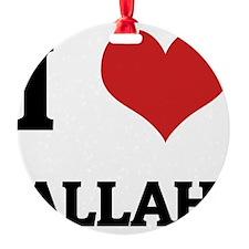ALLAH Ornament