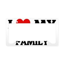MY MILITARY FAMILY License Plate Holder