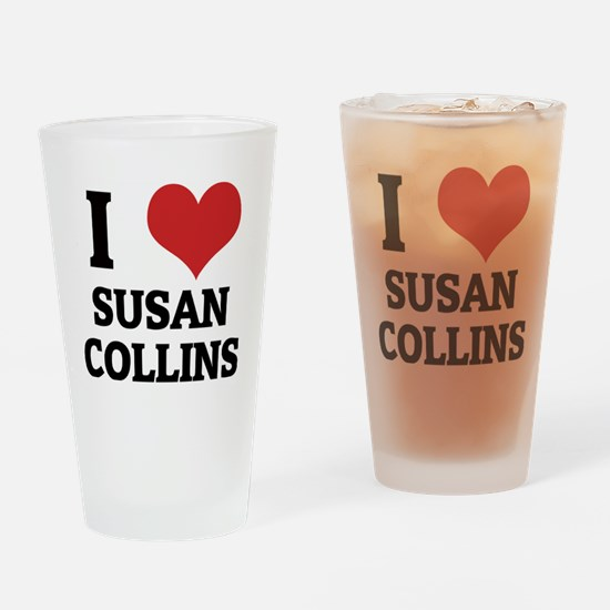 SUSAN COLLINS Drinking Glass