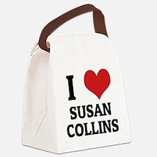 SUSAN COLLINS Canvas Lunch Bag
