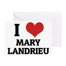MARY LANDRIEU Greeting Card