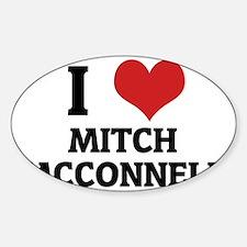 MITCH MCCONNELL Sticker (Oval)