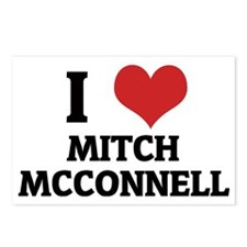 MITCH MCCONNELL Postcards (Package of 8)