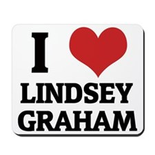 LINDSEY GRAHAM Mousepad