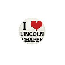 LINCOLN CHAFEE Mini Button