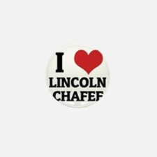 LINCOLN CHAFEE Mini Button