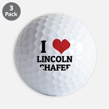 LINCOLN CHAFEE Golf Ball