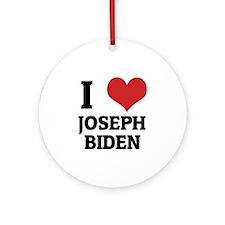 JOSEPH BIDEN Round Ornament