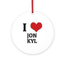 JON KYL Round Ornament