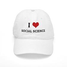 SOCIAL SCIENCE Baseball Cap