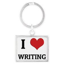 WRITING Landscape Keychain