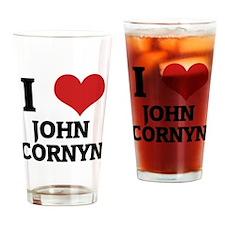 JOHN CORNYN Drinking Glass