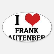 FRANK LAUTENBERG Decal