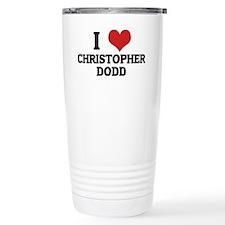 CHRISTOPHER DODD Travel Coffee Mug