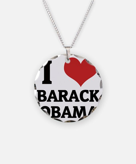 BARACK OBAMA Necklace Circle Charm
