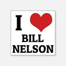 """BILL NELSON Square Sticker 3"""" x 3"""""""
