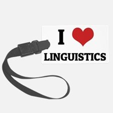 LINGUISTICS Luggage Tag