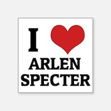 "ARLEN SPECTER Square Sticker 3"" x 3"""