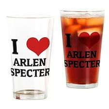 ARLEN SPECTER Drinking Glass