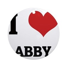 ABBY Round Ornament