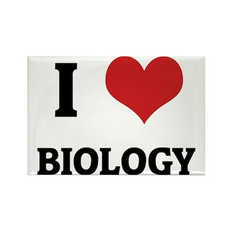 BIOLOGY Rectangle Magnet