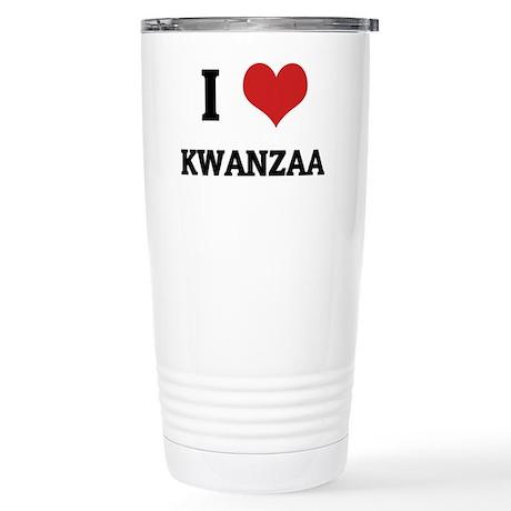 KWANZAA Stainless Steel Travel Mug