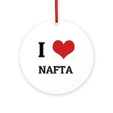 NAFTA Round Ornament