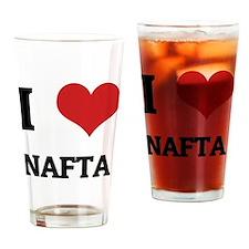 NAFTA Drinking Glass