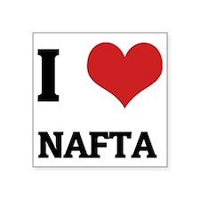 "NAFTA Square Sticker 3"" x 3"""