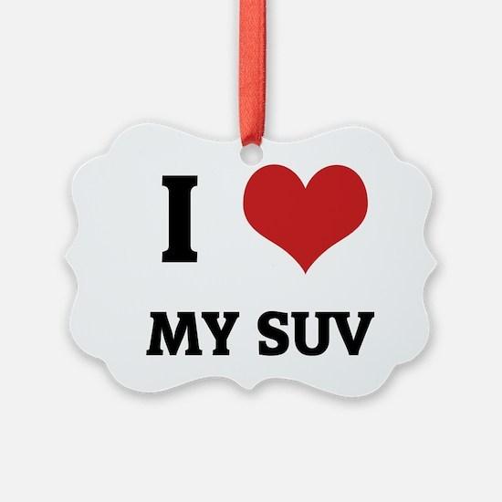 MY SUV Ornament