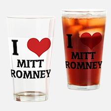 MITT ROMNEY Drinking Glass