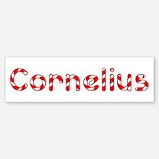 Cornelius - Candy Cane Bumper Bumper Bumper Sticker