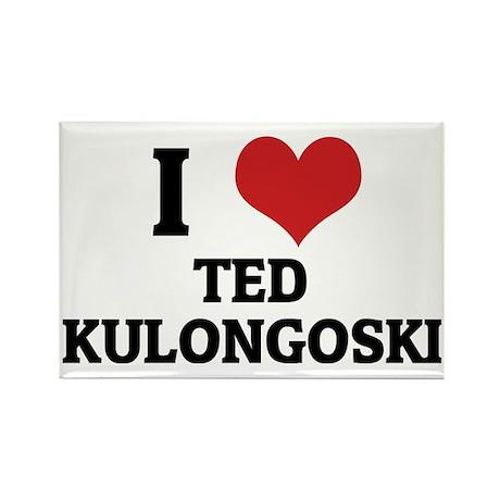TED KULONGOSKI Rectangle Magnet