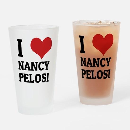 NANCY PELOSI Drinking Glass