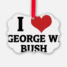 GEORGE W.-BUSH Ornament
