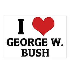 GEORGE W.-BUSH Postcards (Package of 8)