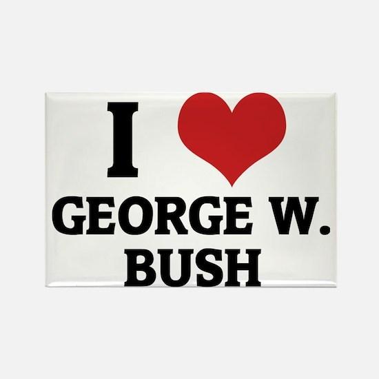 GEORGE W.-BUSH Rectangle Magnet