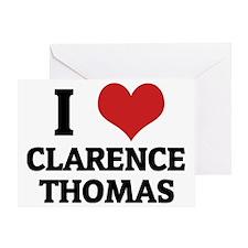 CLARENCE THOMAS Greeting Card