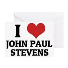 JOHN PAUL STEVENS Greeting Card