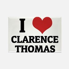 CLARENCE THOMAS1 Rectangle Magnet