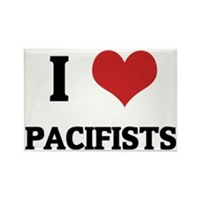 PACIFISTS Rectangle Magnet